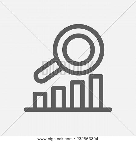 Business Expertise Icon Line Symbol. Isolated  Illustration Of  Icon Sign Concept For Your Web Site