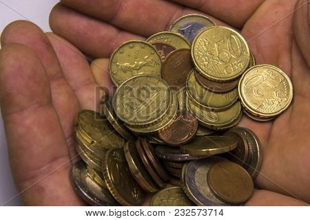 Euro Coins Currency Of The European Union