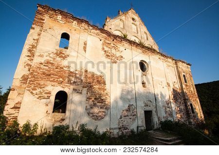 Beautiful Scenery On The Ruins Of The Old Church, Chervonograd