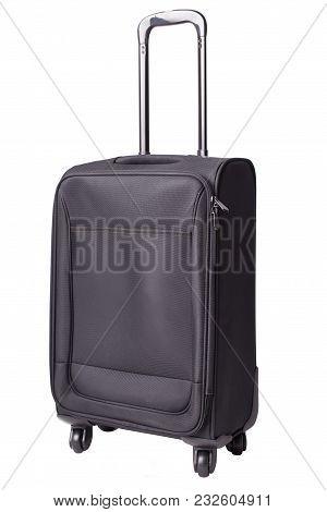 Travel Suitcase. Suitcase Isolated On A White Background.