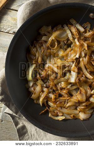 Healthy Homemade Caramelized Onions