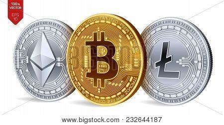 Bitcoin  Ethereum  Vector & Photo (Free Trial) | Bigstock