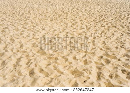 sand background or texture closeup
