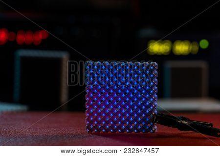 Prototype of nanostructured metamaterials in lab