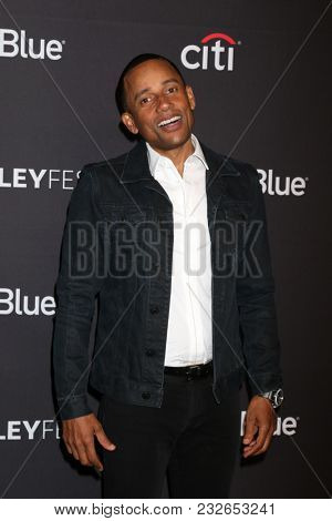 LOS ANGELES - MAR 22:  Hill Harper at the 2018 PaleyFest Los Angeles -