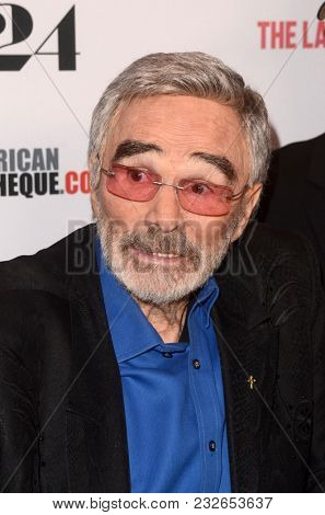 LOS ANGELES - FEB 22:  Burt Reynolds at the