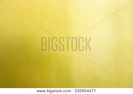 Abstract Golden Surface For Texture And Background.
