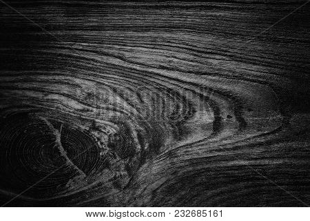 Dark Wood Background Out Black For Background.