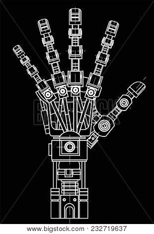 Drawing Model Robot Vector Photo Free Trial Bigstock