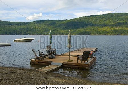 Private Wooden Dock