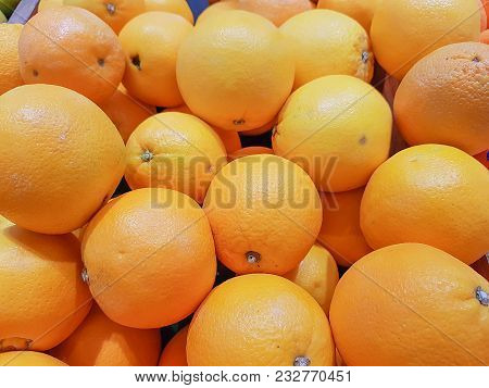 Naval Orange.   The Fruits Are Commonly Eaten.