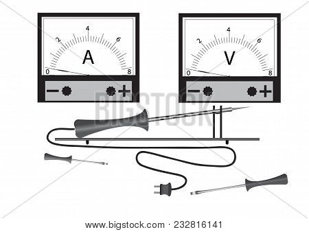 Tools For Repair Of Radio Equipment, For Performance Of Works On Electrical Engineering - Power Unit