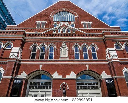 Nashville, Tn Usa - 06/17/2014 -  Ryman Auditorium