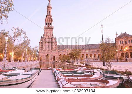 Spain Square (plaza De España), Sevilla - Spain.