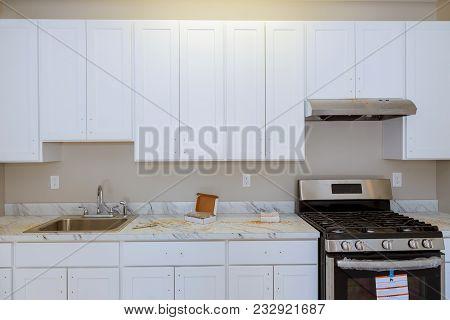 Install White Kitchen Installation Of Kitchen Unit Beautiful White Kitchen