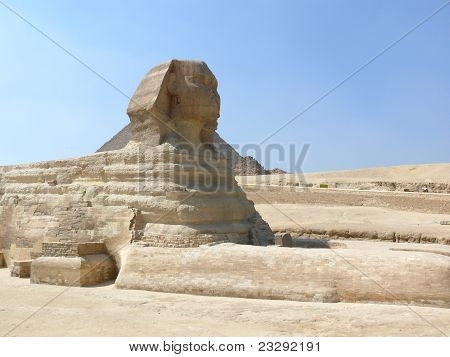 Sphinx at Gizah