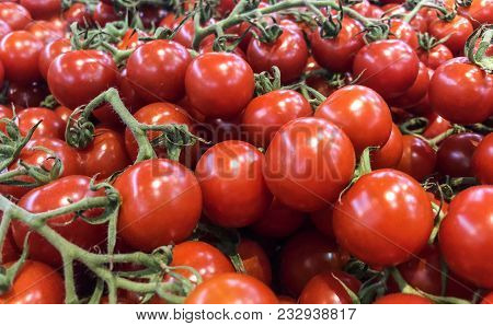 red tomatoes, tomatoes market, farmers table full of red tomatoes, raw tomatoes, fresh, tomatoes