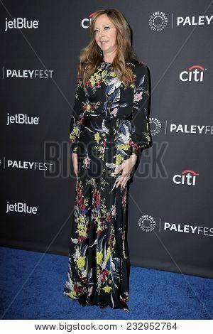 LOS ANGELES - MAR 24:  Allison Janney at the 2018 PaleyFest Los Angeles -
