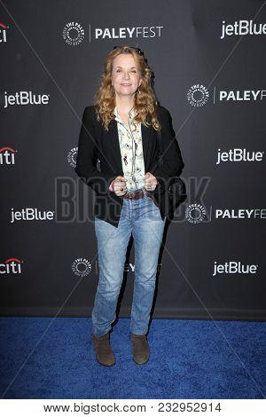 LOS ANGELES - MAR 24:  Lea Thompson at the 2018 PaleyFest Los Angeles -