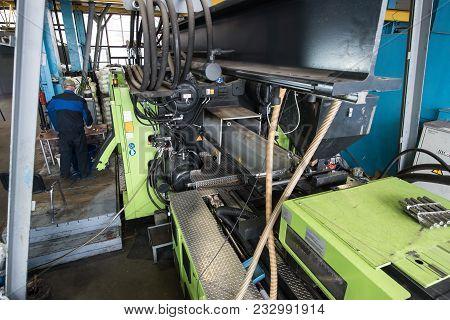Plant For Processing Of Plastics
