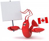 Canadian lobster poster