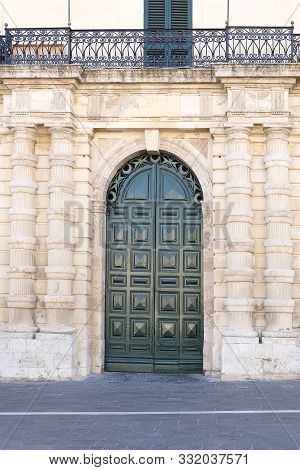 Entrance To The Grandmaster's Palace.