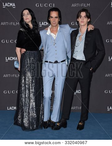LOS ANGELES - NOV 02:  Nick Cave arrives for the LACMA Art and Film Gala 2019 on November 02, 2019 in Los Angeles, CA