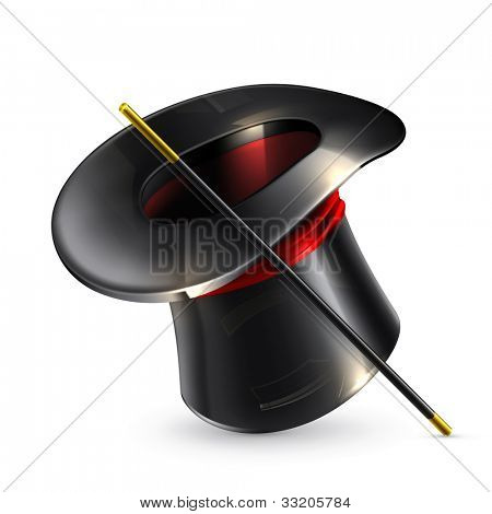 Magic cylinder hat, bitmap copy