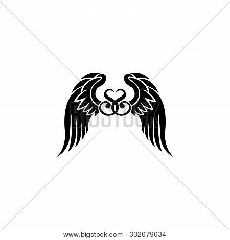 Angel Wings,wing Icon, Wings Logo, Wing Icon Vector, Wing Logo Company, Icon Wing Flying, Eagle Wing