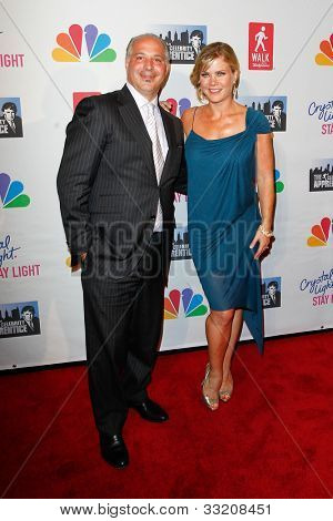 NEW YORK, NY- MAY 20: Walgreens executive Joe Magnacca and Allison Sweeney attend the 'Celebrity Apprentice' Live Finale at the American Museum of Natural History on May 20, 2012 in New York City.