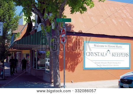 July 18, 2019, In Mt Shasta, Ca:  Zen Metaphysical Crystal Stores In Downtown Mt Shasta, Ca Where To