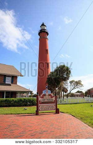 Ponce De Leon Inlet Lighthouse And Museum In Ponce Inlet Near New Smyrna Beach