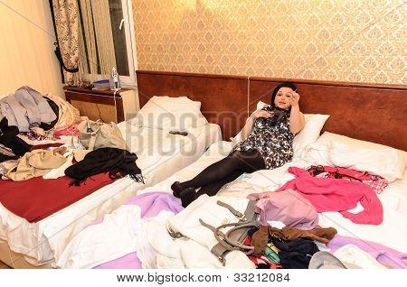 Untidy room
