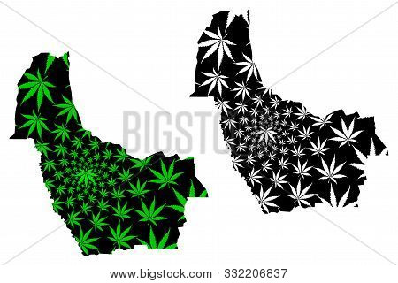 Kwango Province (democratic Republic Of The Congo, Dr Congo, Drc, Congo-kinshasa) Map Is Designed Ca