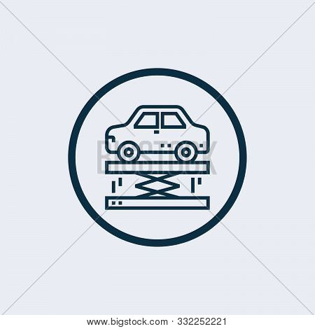 Suspension Icon Isolated On White Background. Suspension Icon Simple Sign. Suspension Icon Trendy An