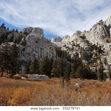 Mt. Whitney, California, Highest Point In The Lower 48 United States