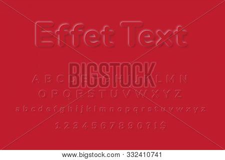 Emboss Effect, Emboss Alphabet, Emboss Font, Emboss Text