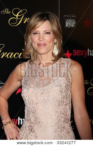 LOS ANGELES - MAY 22:  Hannah Storm arrives at the 37th Annual Gracie Awards Gala at Beverly Hilton Hotel on May 22, 2012 in Beverly Hllls, CA