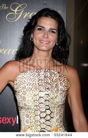 LOS ANGELES - MAY 22:  Angie Harmon arrives at the 37th Annual Gracie Awards Gala at Beverly Hilton Hotel on May 22, 2012 in Beverly Hllls, CA