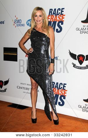 LOS ANGELES - MAY 18:  Taylor Armstrong arrives at the 19th Annual Race to Erase MS gala at Century Plaza Hotel on May 18, 2012 in Century City, CA