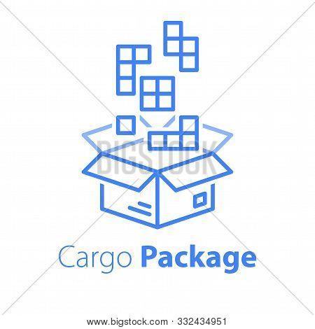 Logistics Services, Linear Design, Assemble Parcel, Multiple Shop Order, Pack Large Set Of Items In