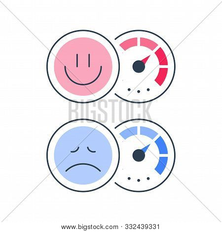 Client Opinion Poll, Customer Attitude, Negative Or Positive Reaction, Good Or Bad Service Survey, G