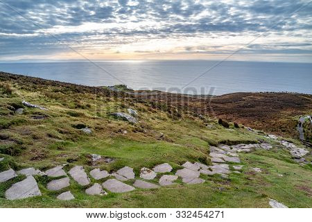 Slieve League Cliffs Are Among The Highest Sea Cliffs In Europe Rising 1972 Feet Above The Atlantic