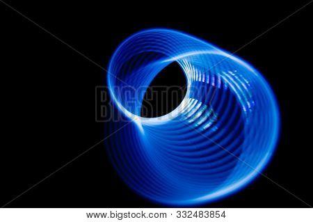 Sound Waves In The Dark In Full Color