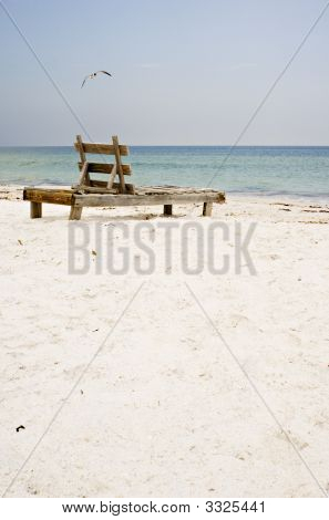 Beach Old Chair