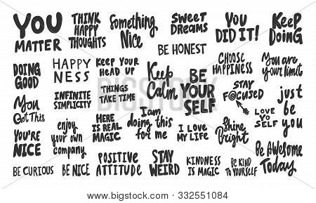 You, Matter, Nice, Self, Keep, Calm, Just, Be, You, Going, Positive, Attitude, Happiness, Happy, Hon