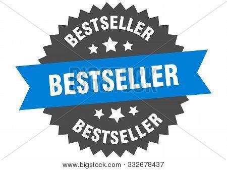 Bestseller Sign. Bestseller Blue-black Circular Band Label
