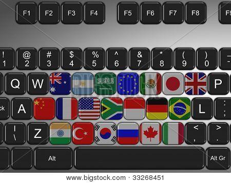 G20 Keyboard
