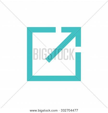 External Link Icon W Image Showing A Link To A Different Website