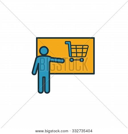 Selling Skills Icon. Simple Element From Soft Skills Icons Collection. Creative Selling Skills Icon